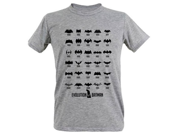 camiseta Batman evolution