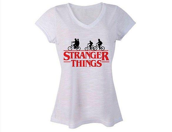 camiseta Feminina StrangerThing M