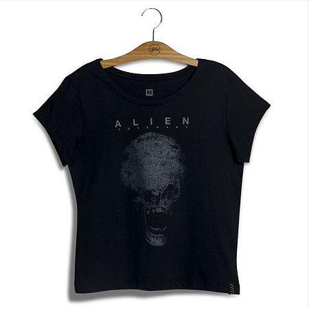 Camiseta Feminina Alien Skull G