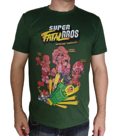 Camiseta Super Fatal Bros Exclusiva
