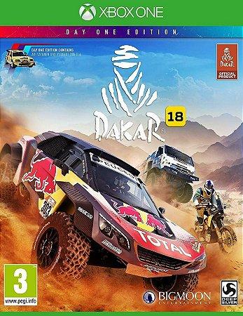 Dakar 18 Xbox One Midia Física Original Lacrado