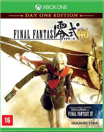 Final Fantasy Type-0 Hd  Day One Edition Xbox One - Lacrado