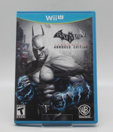 Batman Arkham City Armored Edition Nintendo Wii U Semi Novo