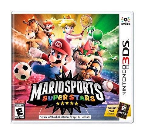 Mario Sports Superstar 3ds - Mídia Física - Lacrado