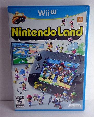 Nintendo Land - Wii U Semi Novo - Midia Física