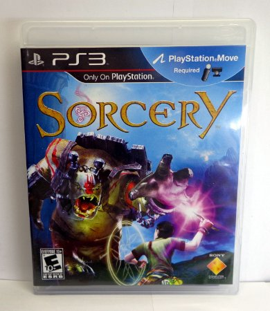 Sorcery Ps3 Requer Ps Move Mídia Física Original