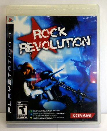 Rock Revolution Ps3 Mídia Física Semi Novo