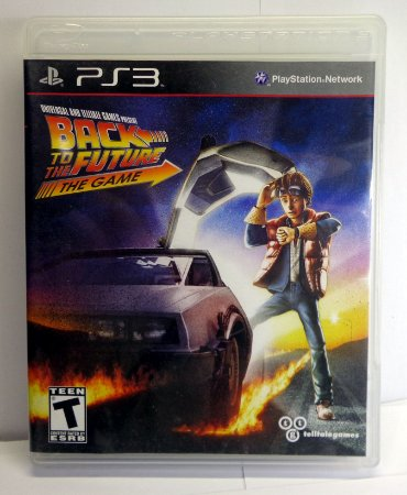 Jogo Back To The Future The Game Semi Novo Ps3
