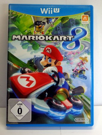 Mario Kart 8 Nintendo Wii U Midia Fisica Semi Novo Europeu