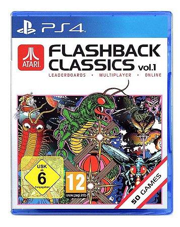 Atari Flashback Classics Vol 1 - Ps4 Europeu