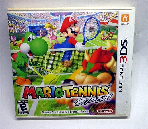 Mario Tennis Open Nintendo 3ds Original Completo  Semi Novo