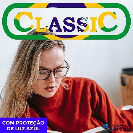 LENTE ANTIRREFLEXO CLASSIC   1.56   VISÃO SIMPLES   PROTEÇÃO LUZ AZUL   COMBINADOS COM ASTIGMATISMO ATÉ -2,00