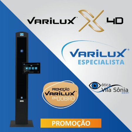 VARILUX X 4D | ORMA (ACRÍLICO) | CRIZAL SAPPHIRE