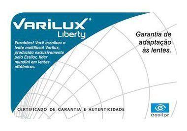 VARILUX LIBERTY   ORMA (ACRÍLICO)   CRIZAL EASY - Ótica Vila Sônia 2337d951be