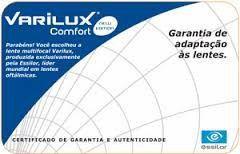 VARILUX COMFORT   ORMA (ACRÍLICO)   CRIZAL EASY - Ótica Vila Sônia c1000cff11