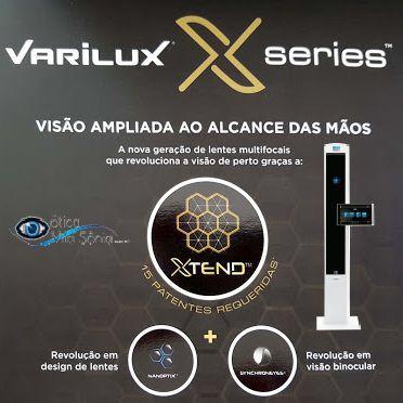 VARILUX X DESIGN   STYLIS 1.67   CRIZAL EASY - Ótica Vila Sônia e4248546cb