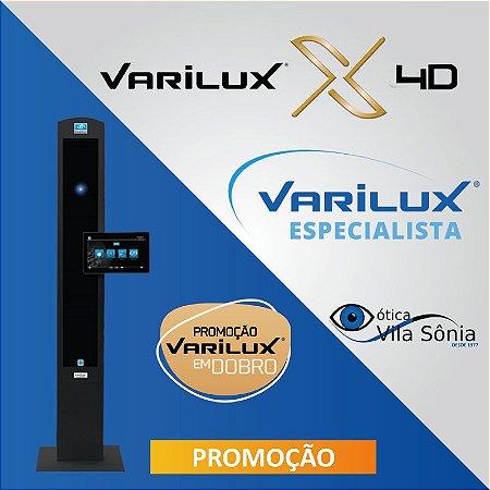 VARILUX X 4D | ORMA (ACRÍLICO) | TRANSITIONS | CRIZAL SAPPHIRE OU PREVENCIA