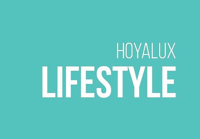HOYA ID LIFESTYLE   TRIVEX   SENSITY   ANTIRREFLEXO CLEANEXTRA   +6.00 a -8.00; CIL. ATÉ -4.00