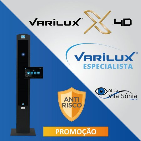 VARILUX X 4D   STYLIS 1.67   OPTIFOG