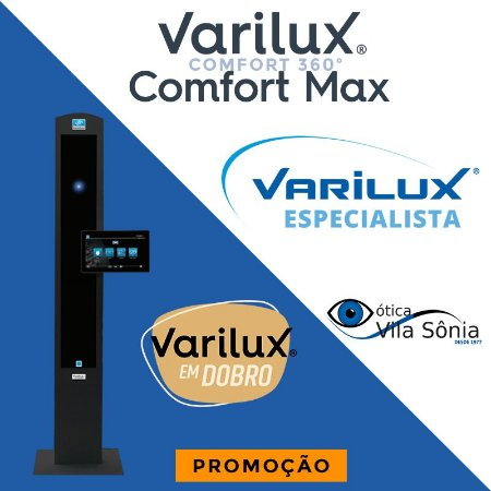 VARILUX COMFORT MAX | POLICARBONATO | ESPESSURA MÉDIA