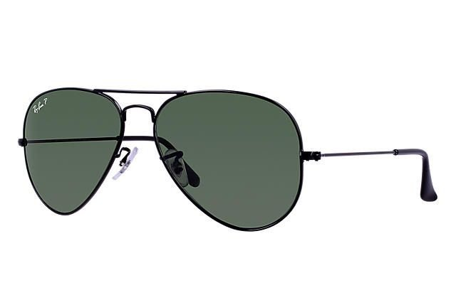 4b2ee4151 ... purchase ray ban aviator clÁssico preto lentes verdes clÁssica g 15  polarizadas tamanho 406df 2a6f7 ...