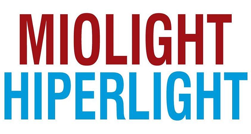 MIOLIGHT / HIPERLIGHT ASFÉRICO | 1.67 | VISÃO SIMPLES PRONTA | +6.00 ATÉ -10.00 CIL -3.00