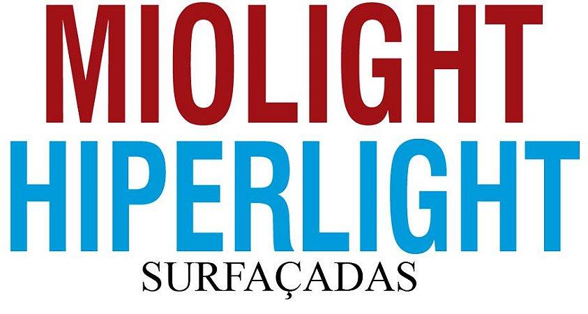 MIOLIGHT / HIPERLIGHT   TRIVEX   VISÃO SIMPLES SURFAÇADAS   +8.00 ATÉ -10.00 CIL -6.00