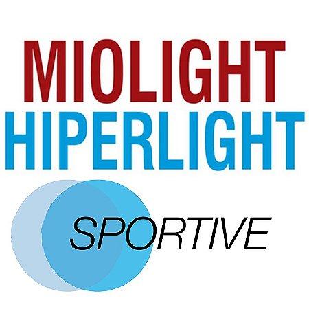MIOLIGHT/HIPERLIGHT SPORTIVE   1.50 ACRÍLICO   +4.00 a -6.00; CIL. ATÉ -4.00