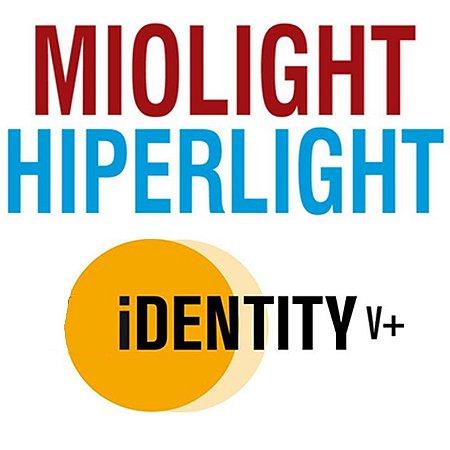MIOLIGHT / HIPERLIGHT IDENTITY V+ | TRIVEX | SENSITY | +9.00 ATÉ -10.00 CIL -6.00