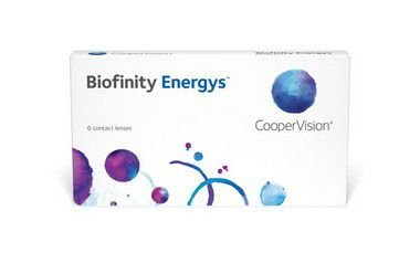 LENTE DE CONTATO COOPERVISION BIOFINITY ENERGYS™   GRAU NEGATIVO