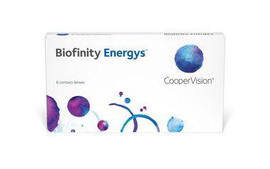 LENTE DE CONTATO COOPERVISION BIOFINITY ENERGYS™ | GRAU POSITIVO