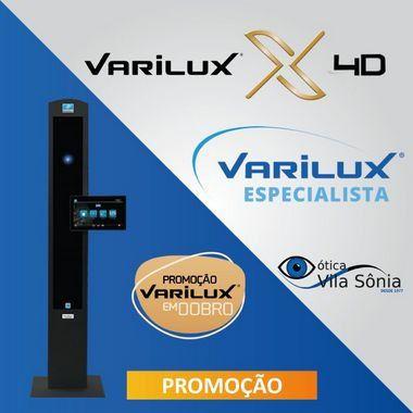 VARILUX X4D   AIRWEAR (POLICARBONATO)   CRIZAL SAPPHIRE