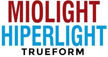 MIOLIGHT / HIPERLIGHT TRUEFORM | TRIVEX | VISÃO SIMPLES SURFAÇADAS | +8.00 ATÉ -10.00 CIL -4.00