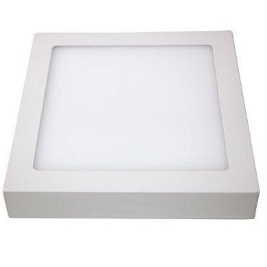 LUMINARIA PL. LED SOBREPOR 18W 22x22 6000K LUM.