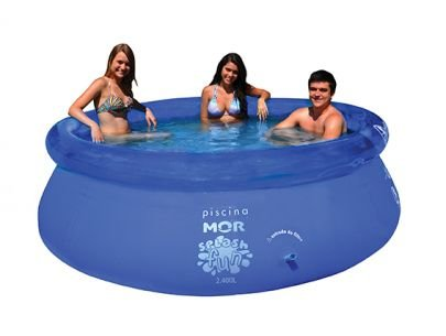 PISCINA SPLASH FUN MOR 2.400LTS