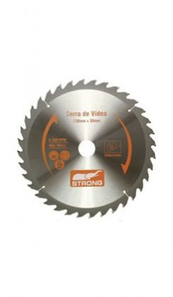 DISCO PARA SERRA CIRCULAR VIDEA 235X25MM 36 DENTES STRONG