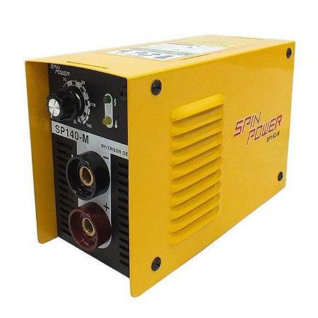 21035 MAQUINA INVERSOR DE SOLDA 140A 220V SP140M SPIN VULC