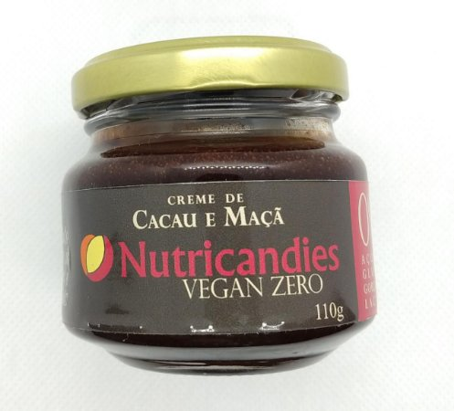 Creme de Cacau e Maçã | Fit Low Carb Zero 110G
