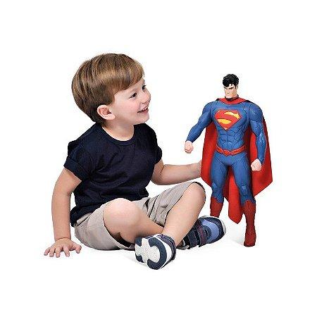 Boneco Superman LJ 43cm - Bandeirante 8095