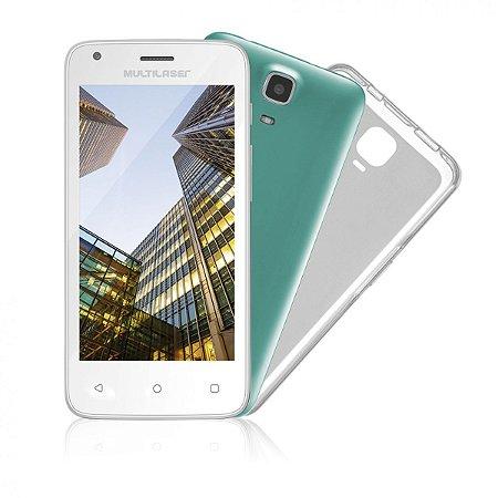 Smartphone Multilaser MS235 Mini Tablet Memória 8GB Câmera 5MP NB235 Bivolt\