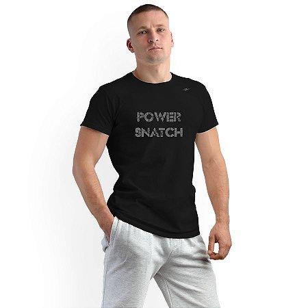Camiseta Masculina Power Snatch Km10 Sports