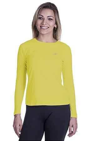 Camiseta Proteção UV Novo Amarelo