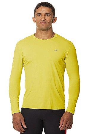 Camiseta Masculina Proteção UV Amarelo