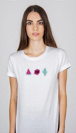 Camiseta Feminina Stick