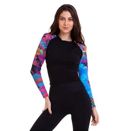 Camiseta Feminina Proteção UV50 Slim Km10 Sports