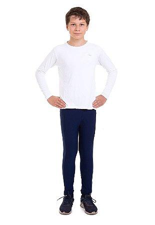 Camiseta Infantil Proteção UV50 Km10 Sports