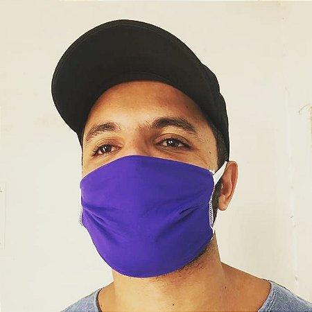 Máscaras de Tecido - Kit com 6 - Cores sortidas