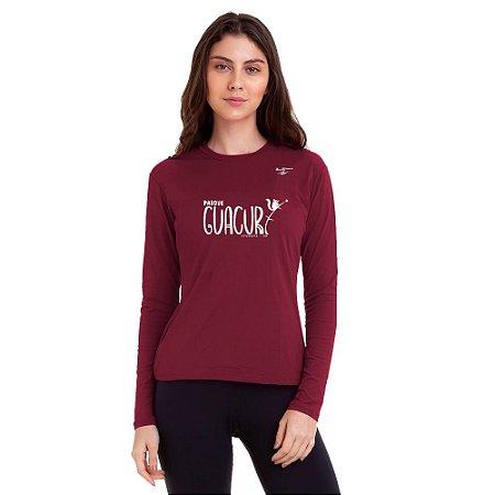 Camiseta Feminina Proteção UV50 Parque Guacuri