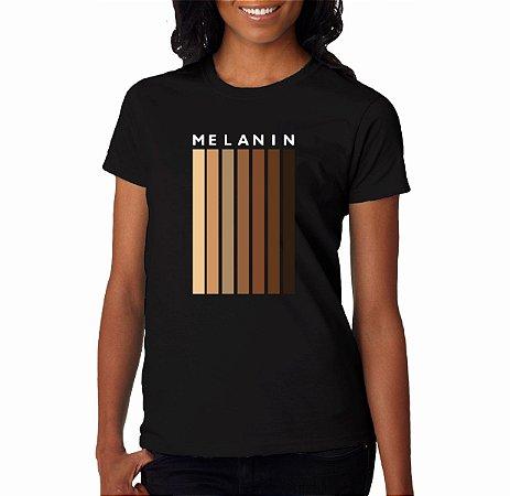 T-Shirt Feminina Melanina Km10 Sports