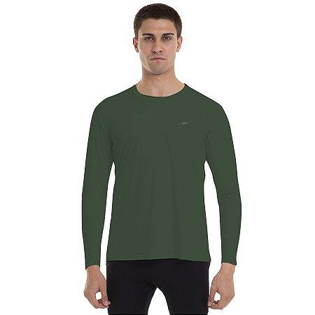Camiseta Masculina Proteção Solar UV50+ Km10 Sports